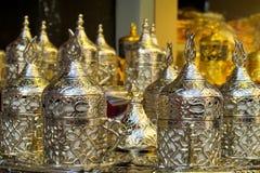 Серебряный комплект бака чая Стоковое Фото