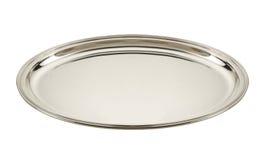 серебряный поднос Стоковое Изображение RF