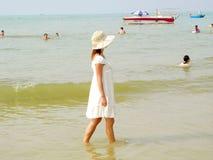 Серебряный пляж Стоковые Фотографии RF