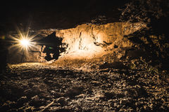 Серебряный рудник, Tarnowskie окровавленное, место наследия ЮНЕСКО стоковая фотография