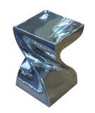 Серебряный стул искусства Стоковое Изображение