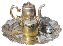 Серебряный чайник Стоковые Фотографии RF