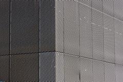 Серебряный экстерьер текстуры гриля сетки Стоковое Изображение RF