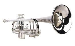 серебряный trumpet Стоковое Фото