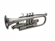 Серебряный trumpet Стоковая Фотография