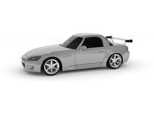 серебр автомобиля иллюстрация штока