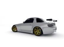 серебр автомобиля иллюстрация вектора