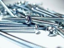 серебр винтов Стоковые Фотографии RF