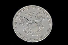 серебр доллара мы стоковая фотография rf