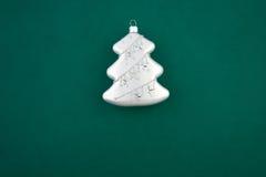 серебр ели украшения рождества Стоковое Изображение