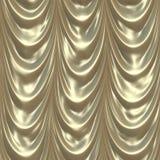 серебр занавеса Стоковая Фотография