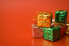 серебр золота зеленый Стоковое Фото