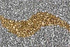 серебр золота предпосылки Стоковое Изображение RF