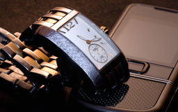 серебр золота Стоковая Фотография RF