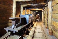 серебр золотодобывающего рудника бондаря Стоковые Изображения