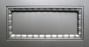 серебр комнаты металлической пластинкы сообщения Стоковая Фотография RF