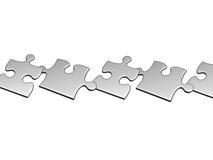 серебр летания воздуха установленный головоломками к Стоковые Фотографии RF
