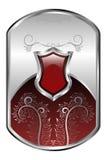 серебр медальона Стоковые Изображения