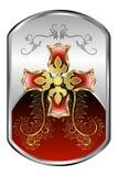 серебр медальона Стоковое Изображение