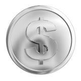 серебр монетки Стоковые Фотографии RF