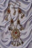 серебр ожерелья Стоковые Изображения