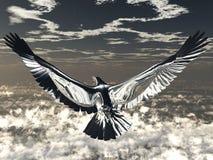 серебр орла иллюстрация вектора