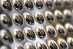 серебр отверстий Стоковые Изображения