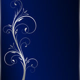 серебр переченей предпосылки темный шикарный флористический иллюстрация штока
