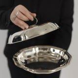 серебр плиты Стоковая Фотография