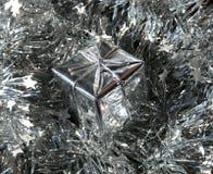 серебр подарка Стоковая Фотография