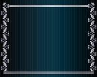 серебр предпосылки голубой металлический Стоковые Фото
