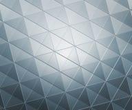 Серебр придает квадратную форму абстрактной предпосылке Стоковое фото RF