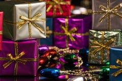 серебр пурпура пакетов ii Стоковое Фото