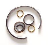 Серебр разницы Стоковые Изображения RF