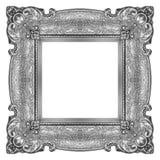 серебр рамки Стоковые Изображения