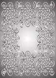 серебр рамки Стоковое Изображение