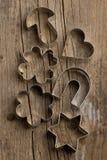 серебр резцов печенья Стоковая Фотография
