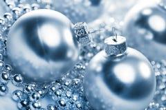 серебр рождества шариков Стоковое Изображение RF
