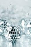 серебр рождества шариков Стоковое Изображение