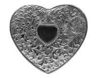серебр сердца Стоковое Фото