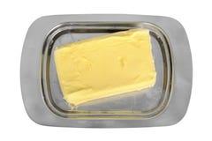 серебр тарелки масла Стоковая Фотография RF
