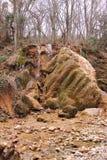 Серебр течет водопад в Крыме Стоковые Фотографии RF