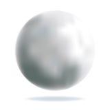 серебр шарика глянцеватый Стоковые Изображения