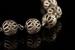 серебр шариков Стоковые Изображения
