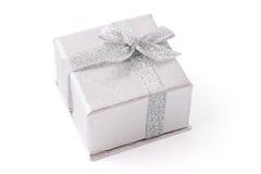 серебр ювелирных изделий коробки Стоковая Фотография RF