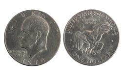 серебр доллара старый Стоковое Фото