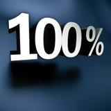 Серебр 100% Стоковые Изображения
