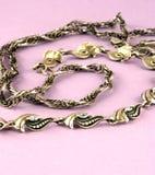 серебр bangle цепной Стоковое Изображение
