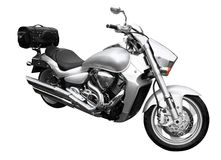 серебр bike Стоковые Фото