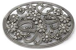 серебр brooch Стоковое Фото